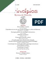 Revista Princípios, Vol. 13, números 19-20, 2006