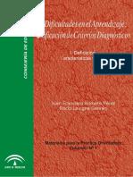 Dificultades en El Aprendizaje Unificación de Criterios Diagnósticos VOL1
