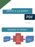 Imprest & Sub Imprest