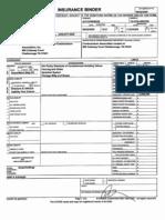 HOA - Insurance  Binder