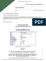 M-VAT 012018 BIR Email Notification (EFiling of Tax Return)