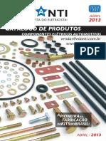 Arruela - Catálogo de Produtos a Pioneirana Fabricação Dekitsnobrasil 2013