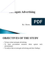 35158729 Surrogate Advertising Final Ppt