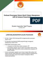 Evaluasi Penerapan Sistem Merit Juni 2017