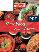 National Food Annual Report 2016-17