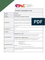 ITECH07 Assignment 1