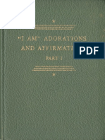 i Am Adorations and Affirmations, By Chanera - 1935 - First Edition - Lq