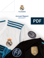 Annual Report Real Madrid 2017