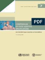FAO Analysis Method