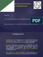 Amalgamación Hidrometalurgia Del ORO