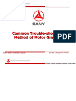 Common Trouble-shooting Method of Motor Grader