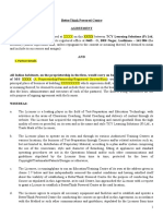Agreement Template BPC