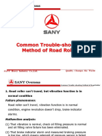 Common Trouble-shooting Method of Road Roller