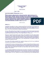 PILAR DEVELOPMENT CORPORATION vs. DUMADAG