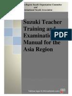 ARSO Interim Teacher Training Manual September 2014