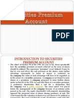 Securities Premium Account