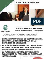 2.4 Plan de Negocios de Exportacion (Presentación 10 Filminas)