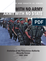 State With No Army, Army With No State Evolution of the Palestinian Authority Security Forces,1994–2018
