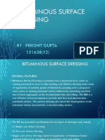 Bituminous Surface Dressing