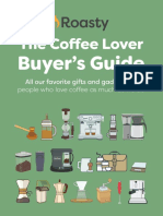 Coffee Lover Buyers Guide