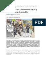 El Futuro de La Ley Universitaria