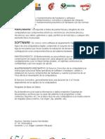 Hadware,Software,Mantenimiento,Mantto Preventivo y Correctivo