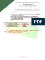 2.8 Formação de Palavras - Ficha Trabalho (1) - Soluções