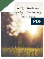 Grateful Journal PDF