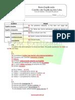 2.9 Funções Sintáticas - Ficha Trabalho (2) - Soluções