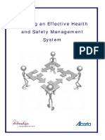 Building an Effective Health and Safety Management System