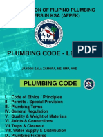 Plumbing Mathematics