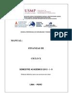 Manual Finanzas III - 2013 - i - II