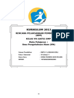 RPP Kelas 7 IPA  2.doc