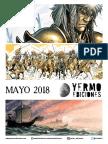 NOVEDADES Yermo Ediciones para Mayo 2018