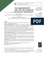 Measuring Organizational Rsponsivenss - Hoyt