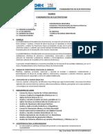 Fundamentos de Electrotecnia.