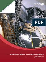 Minerales, Fósiles y Evolución Humana. Guía Didáctica.pdf