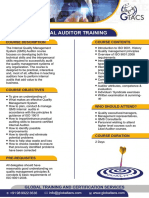QMS-Internal Auditor Brochure