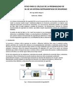 Metodo Cuantitativo Para La Determinacion Del Nivel de Integridad de Una Funcion de Seguridad de Un Sis Ciee
