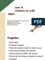 Evaluare Si Monitorizare in Schi Alpin