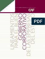 Lineamientos Gobierno Corporativo Empresas Estado CAF