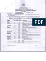 Date Sheet for B.a Hons Part 1 2 3