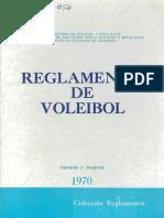 REGLAMENTO DE VOLEIBO