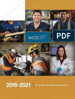 2019-2021 Sask. WCB Strategic and Operational Plan