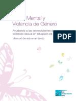 Salud Mental y Violencia de Genero
