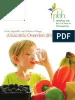 PBH Behavior Change Review