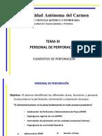 Personal de Perfo.