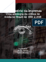 Observatório Da Imprensa Uma Antologia Da Crítica de Mídia No Brasil de 1996 a 2018