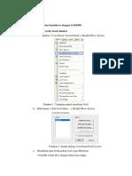 Langkah Pemodelan Kantilever Dengan SAP2000