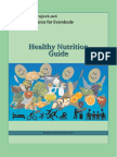 Healthy Nutrition Guide Eidos Project